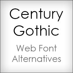 8 Century Gothic Font Images