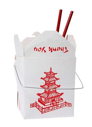11 Chinese Take Out Box Icon Images