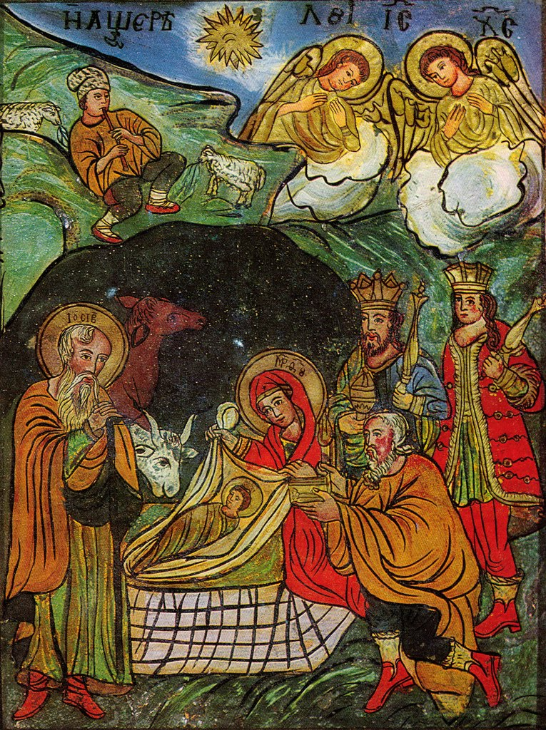 12 Orthodox Christmas Icons Images