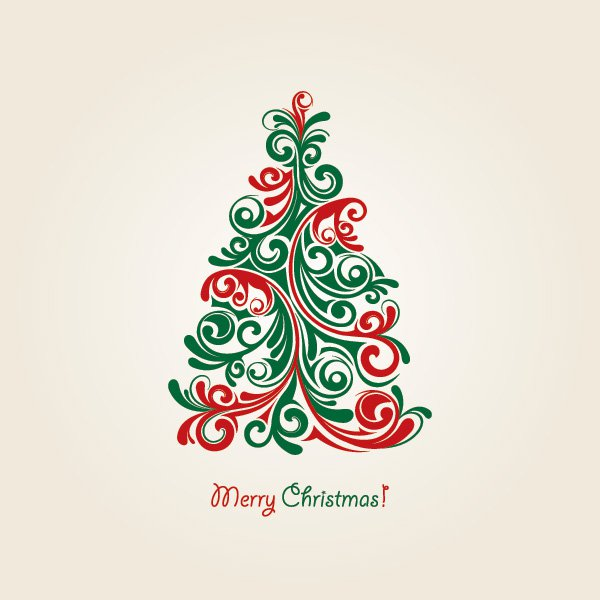 15 Christmas Trees Free Vector Graphics Images