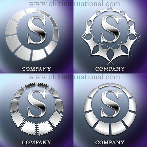 Chrome Logo Effect Photoshop