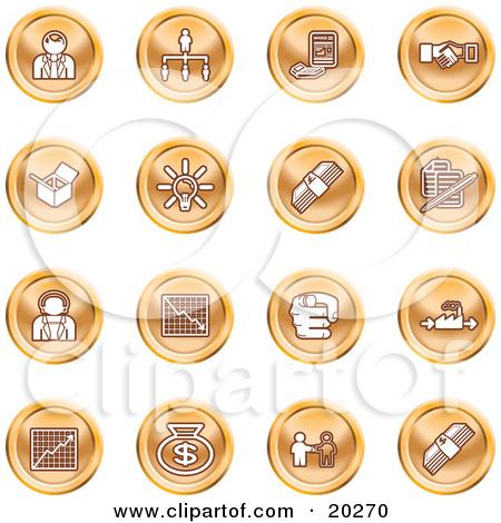 Clip Art Business Person Icon