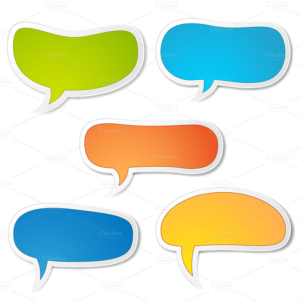 13 Text Speech Bubble Vector Images