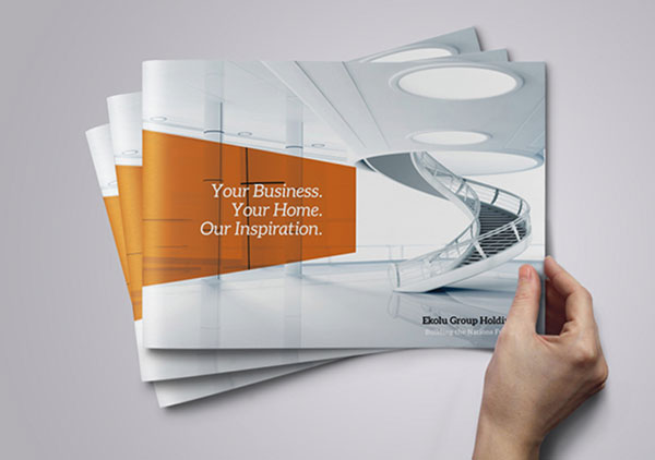 12 Corporate Brochure Design Images