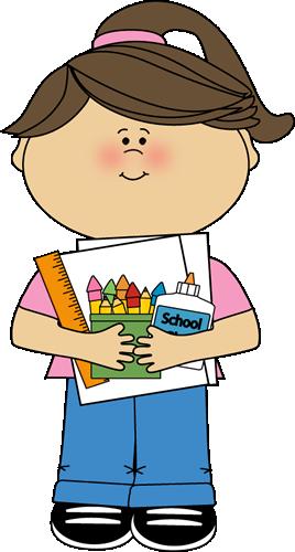 Cute School Supplies Clip Art