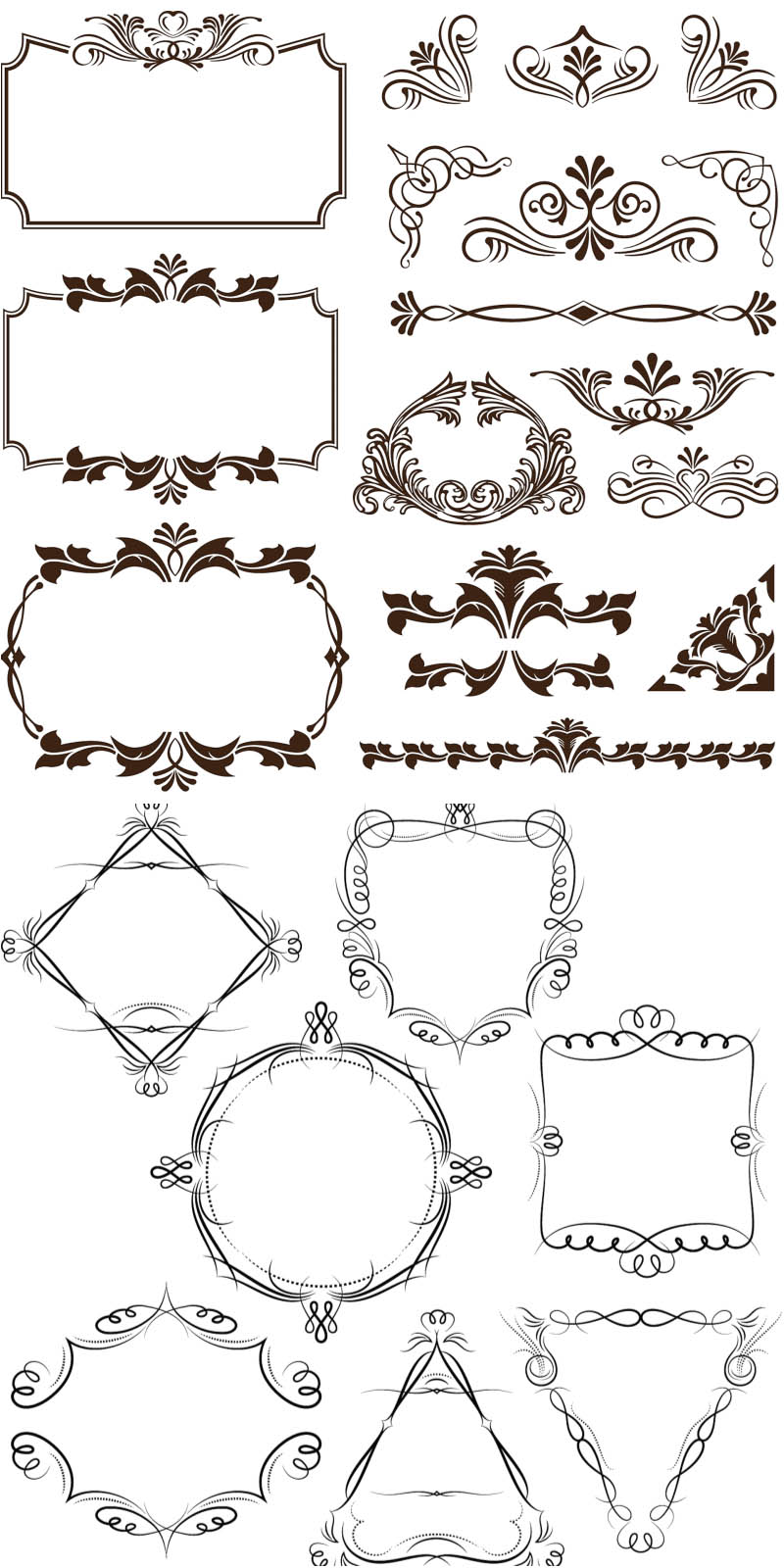 Decorative Frame Corners