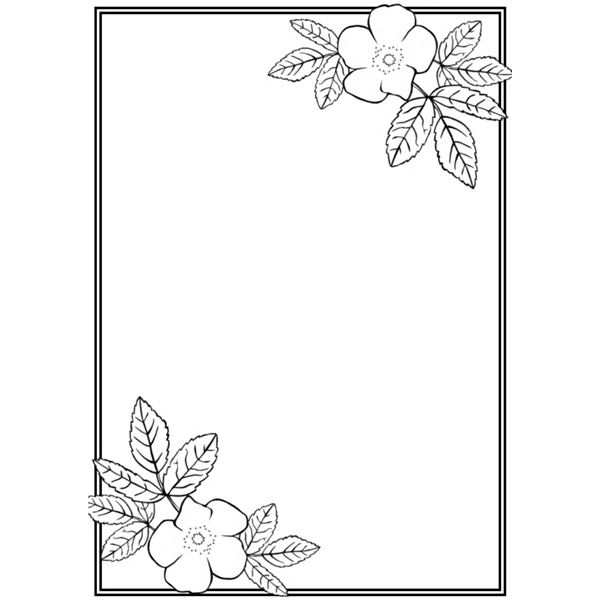 9 Simple Page Border Designs Images - Vintage Page Border ... Very Simple Border Designs To Draw