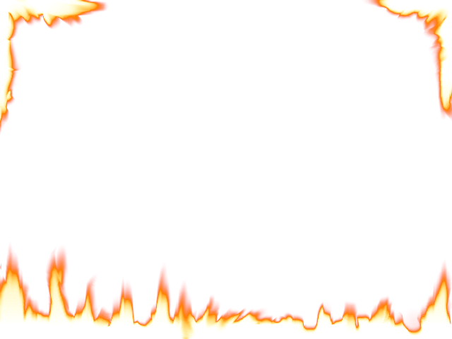 11 Flames Border Vector PNG Images