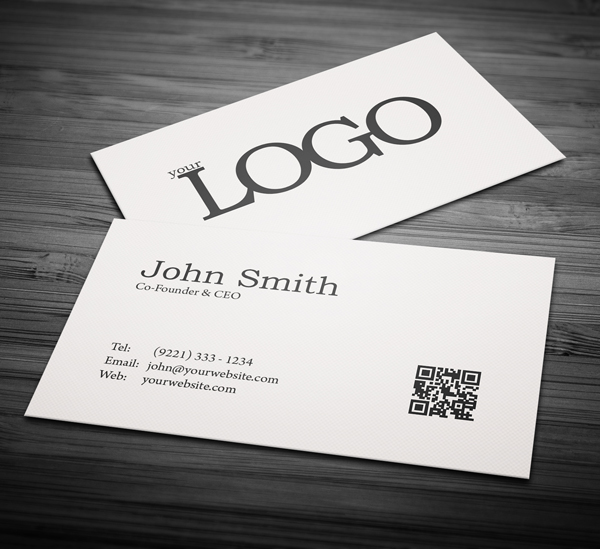 Free Business Card 3 X 5 PSD Template