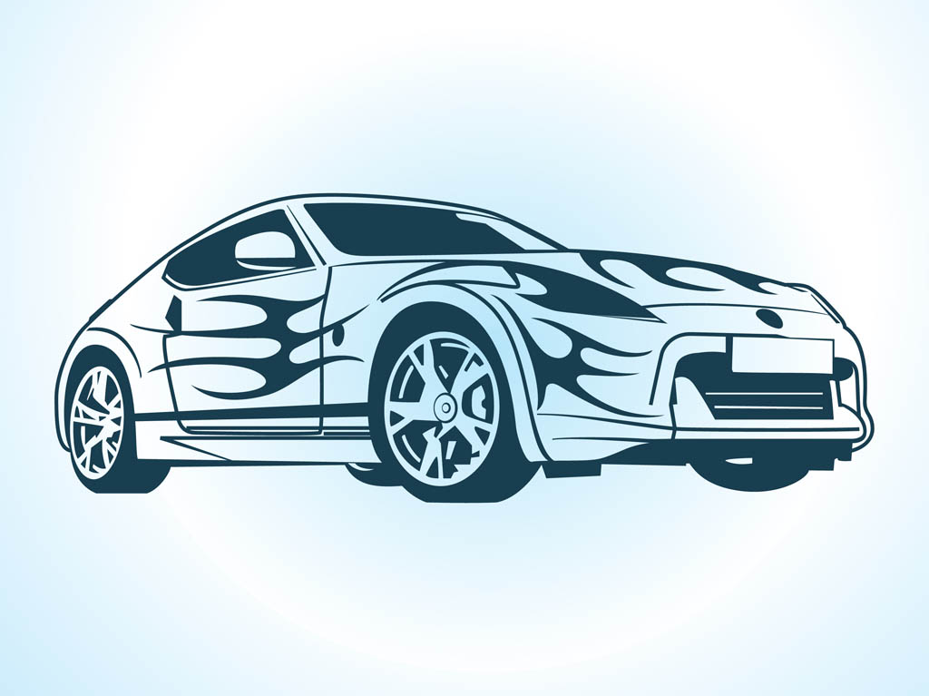 15 Vector Car Graphics Images