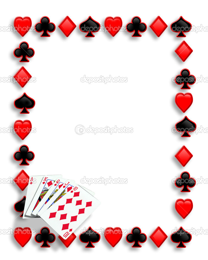 Free Clip Art Borders Playing Cards