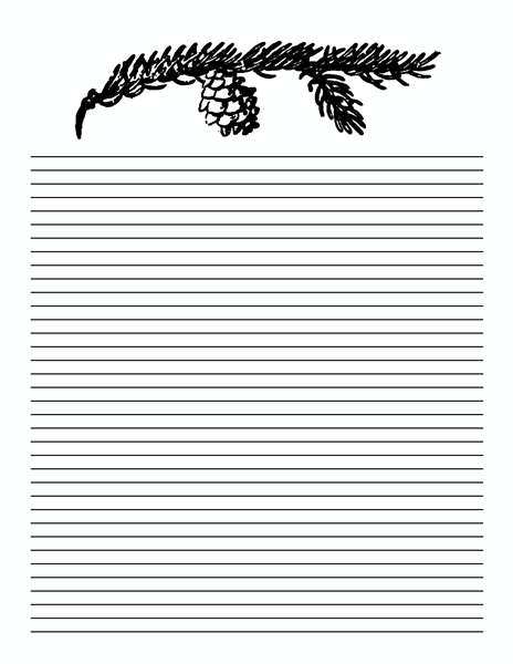 9 Lined Paper Template PSD Images - Free Lined Paper, Free
