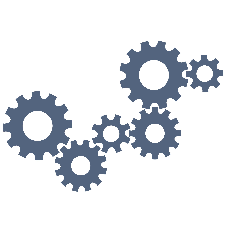 12 Gear Icon Vector Free Images - Gears Vector Clip Art ...