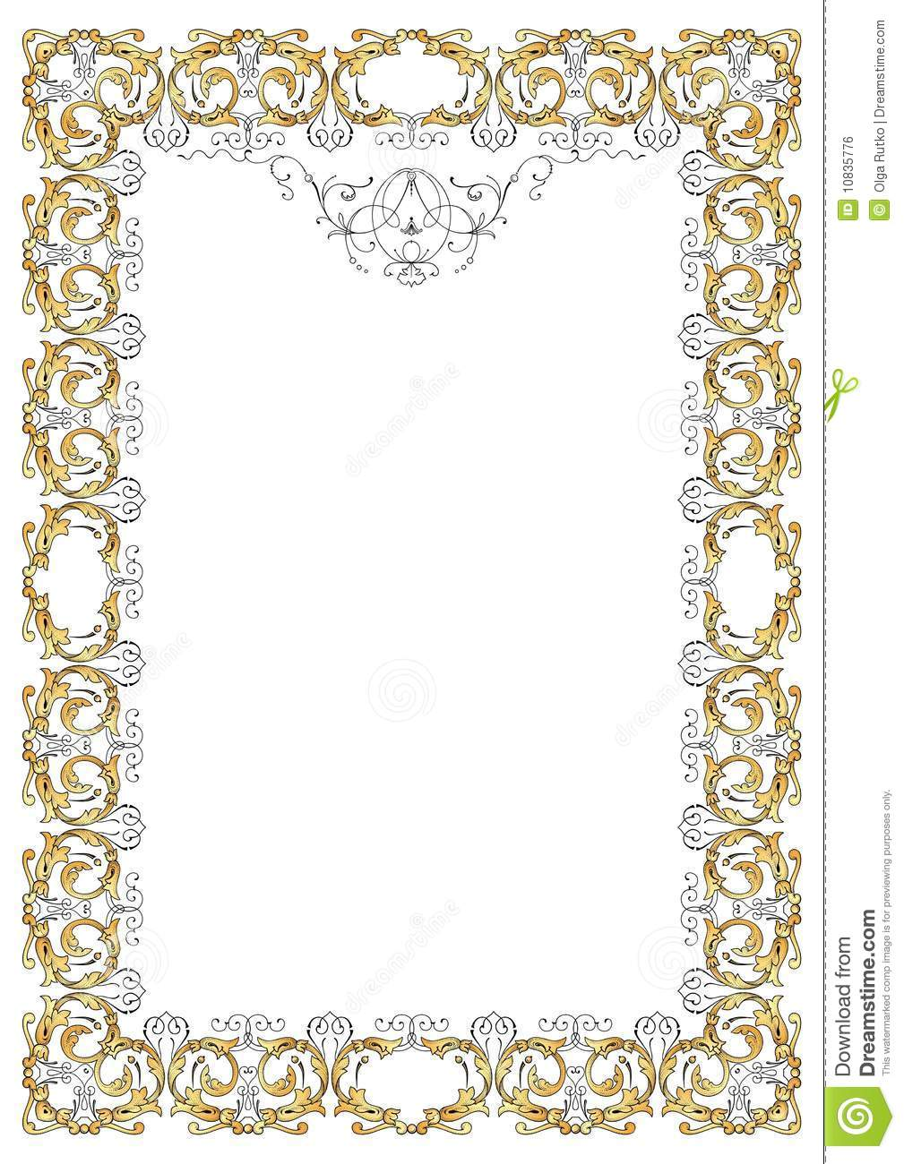 Free Vector Ornate Frame