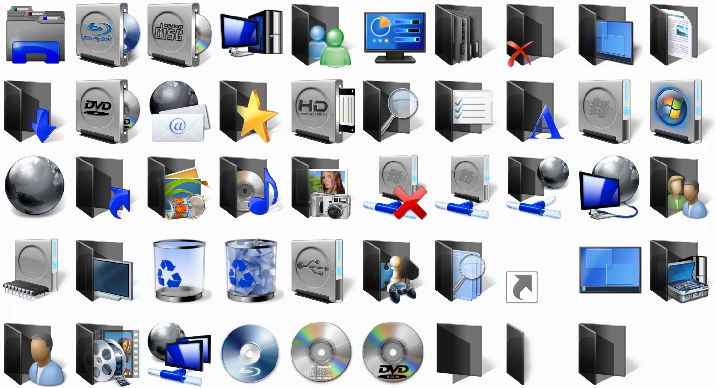 Get windows 8 icons back in windows 10.