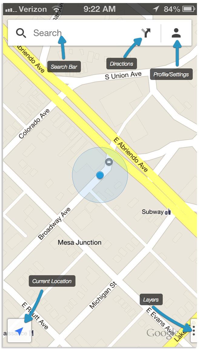 Google Maps Icon iPhone
