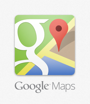Google Maps iPhone App Icon