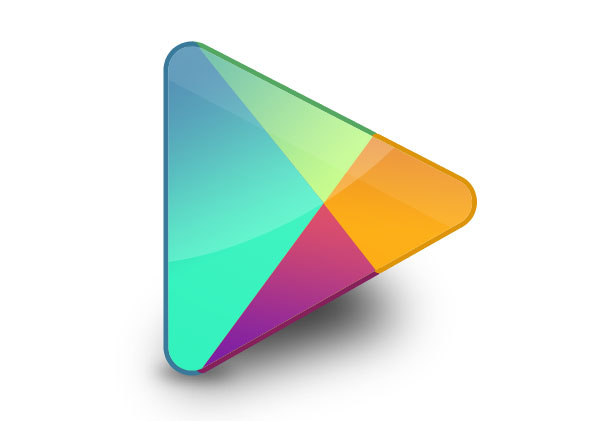 16 play store icon vector images google play store logo