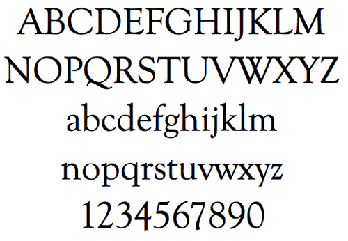 Goudy Old-Style Font