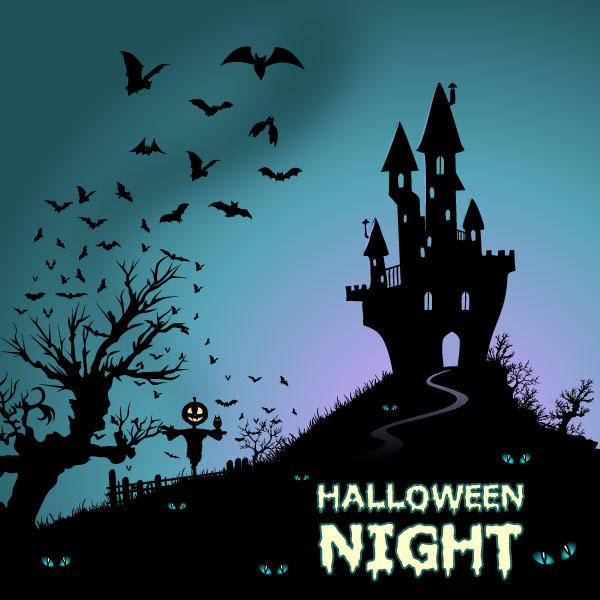19 Halloween House Vector Images