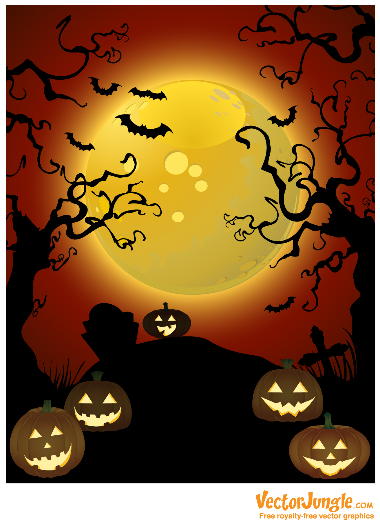 Halloween Vector Free Download