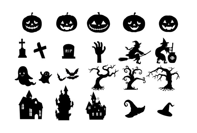 Halloween Witch Silhouette Free