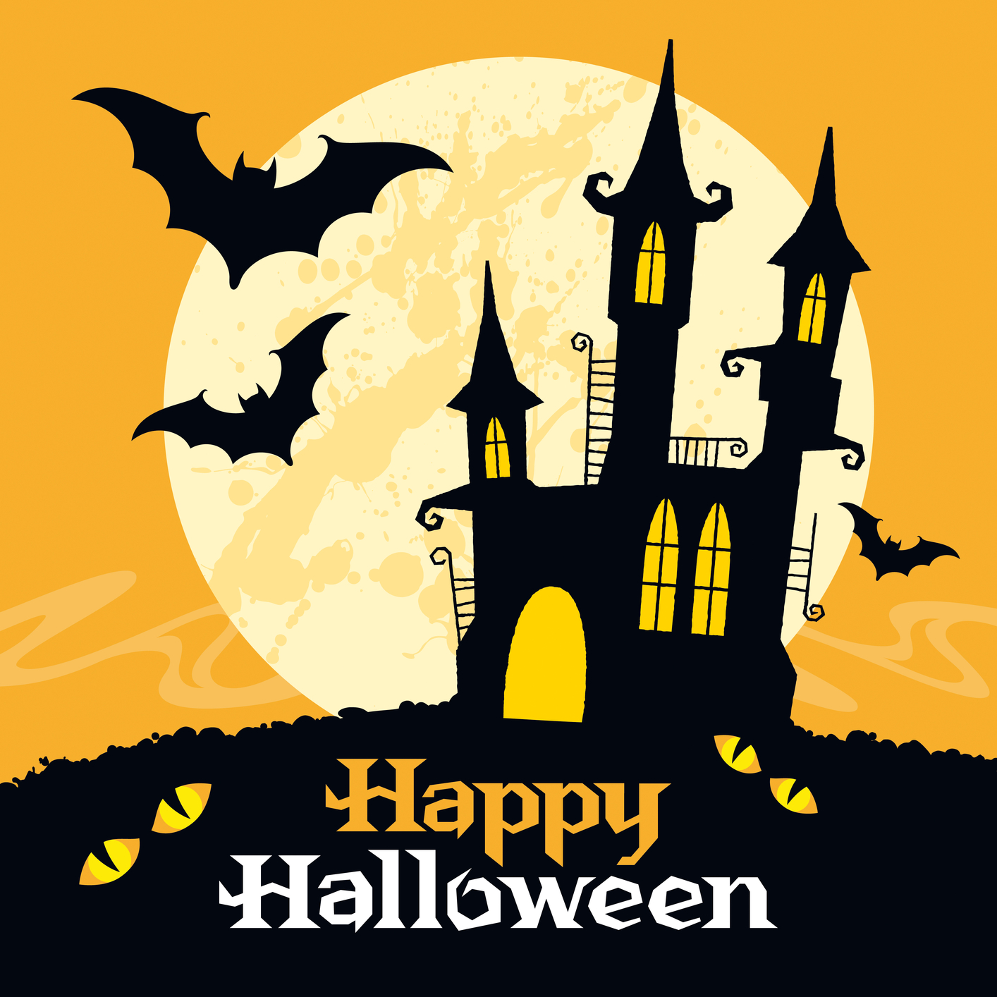 Happy Halloween Card Templates