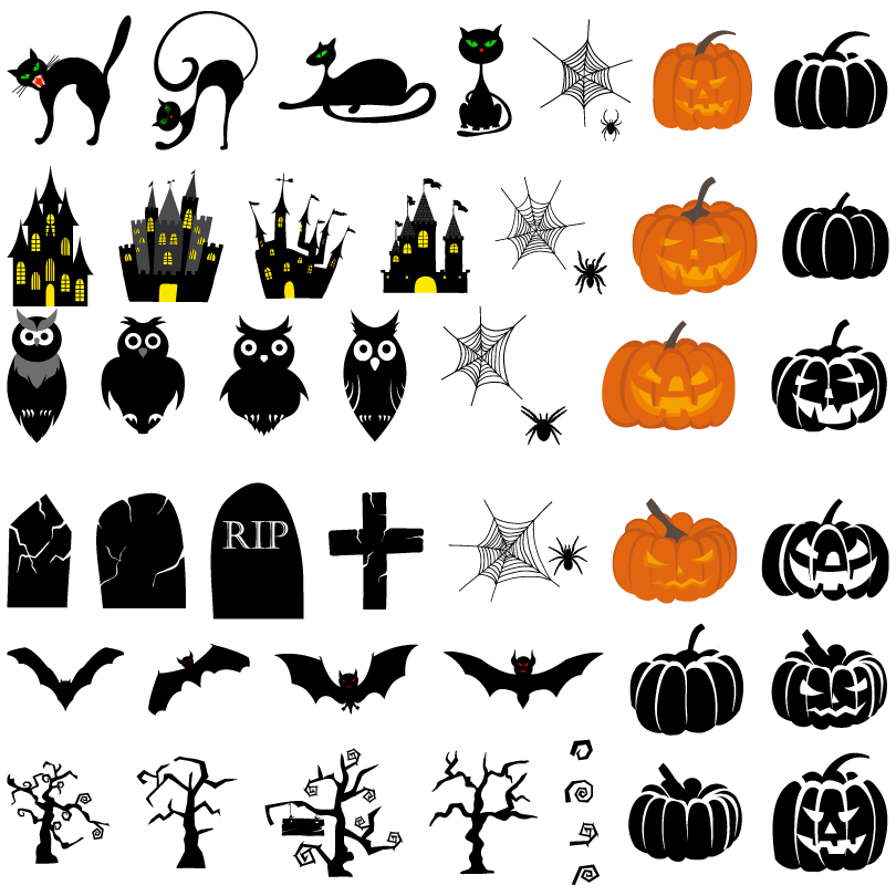 Happy Halloween Vector Free