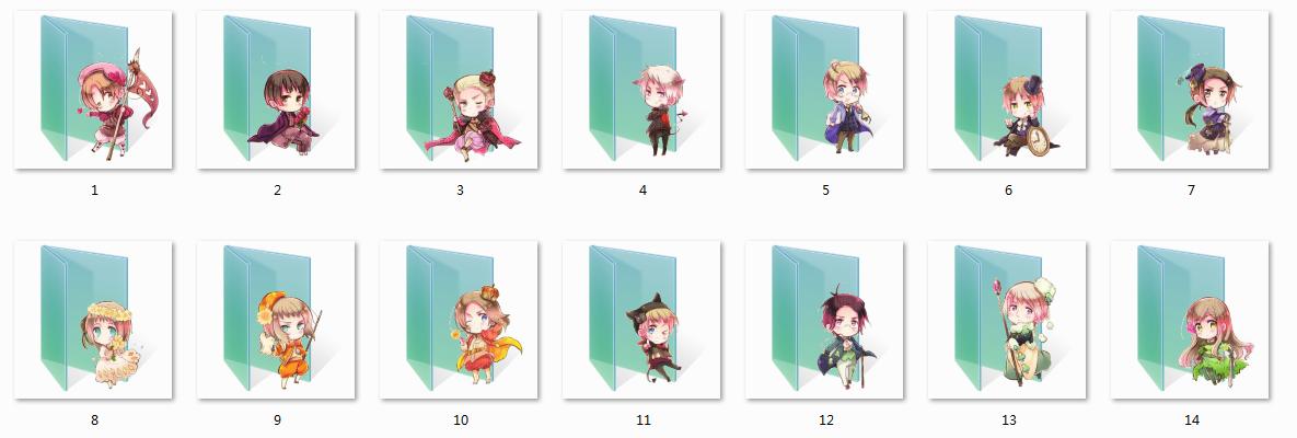 17 Hetalia Folder Icons Images