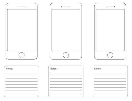 Nice Iphone App Design Template Gift - Resume Ideas - namanasa.com