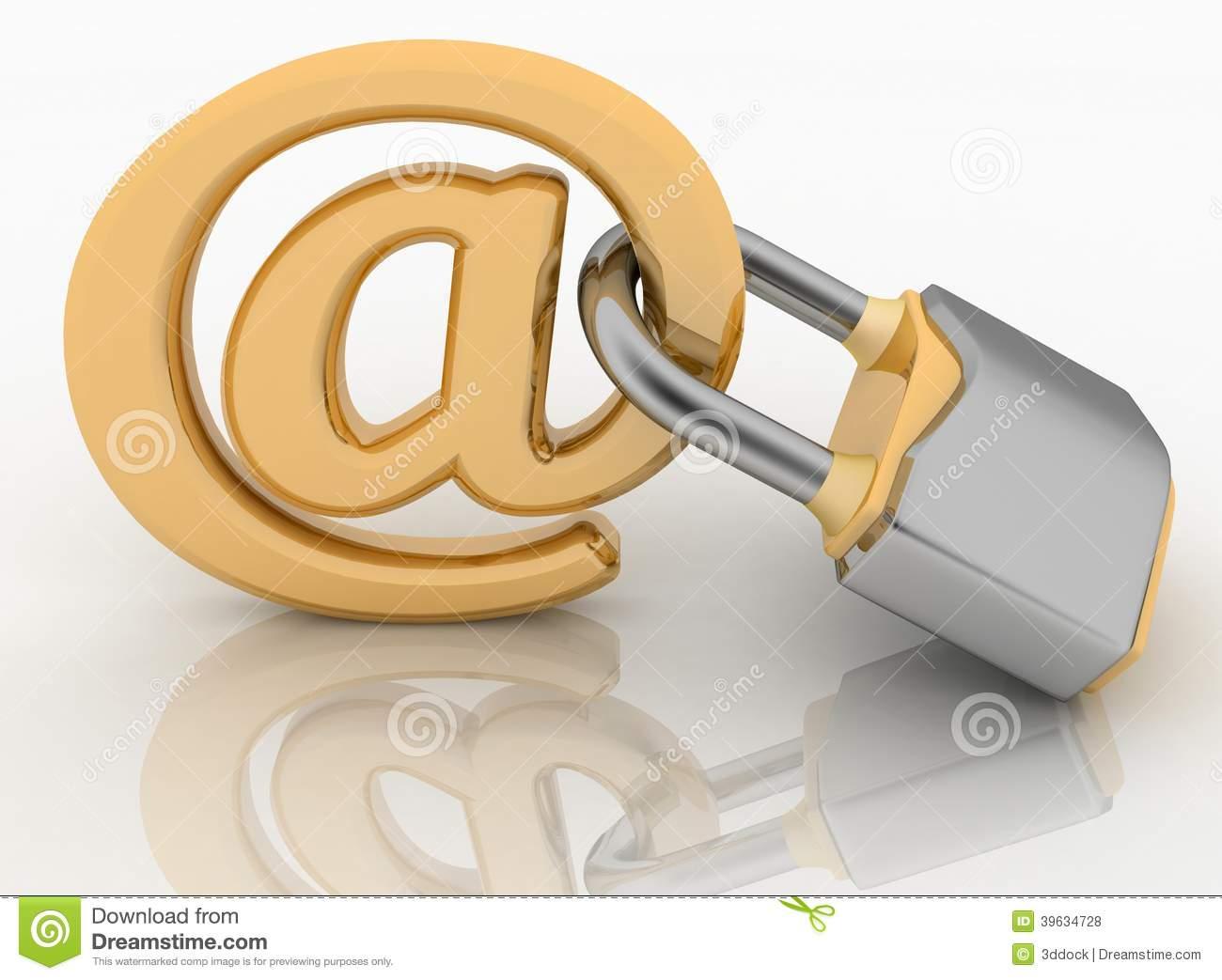 Internet Lock Symbol