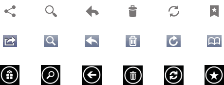 iOS Android Windows Phone Icons