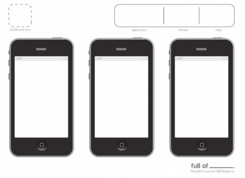 ipad grid template - 15 iphone app design template images iphone app design