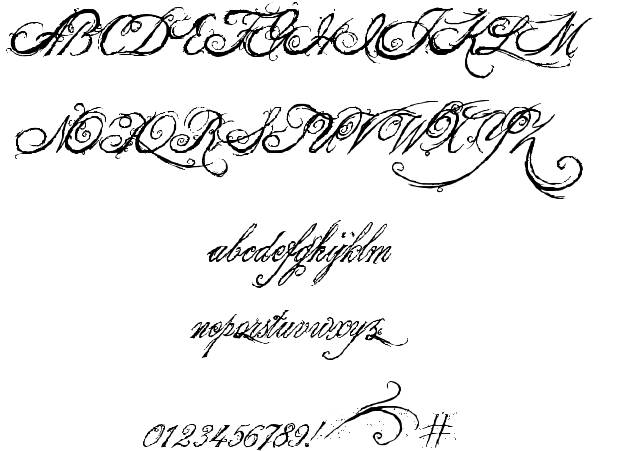King And Queen Tattoo Font: 8 King And Queen Font Alphabet Images