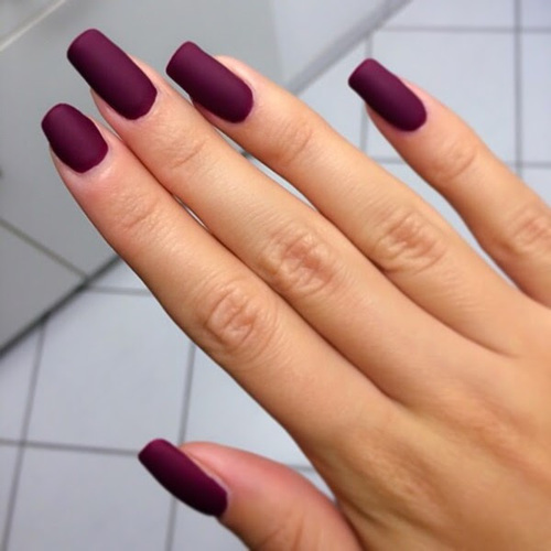 10 Purple Nail Designs Tumblr Images