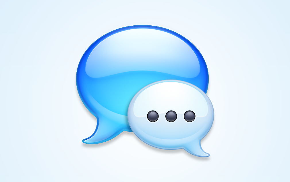 Messages application