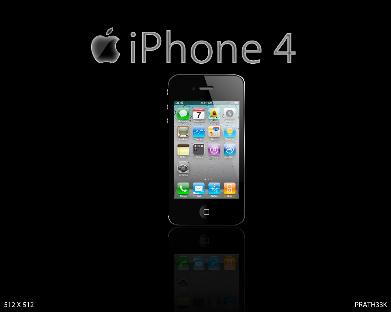 My Icons On iPhone 4