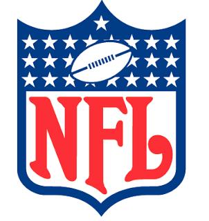 NFL Logo Black and White