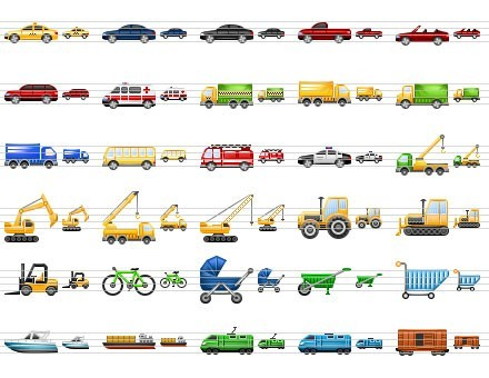 11 Cars 2 Desktop Icons Images