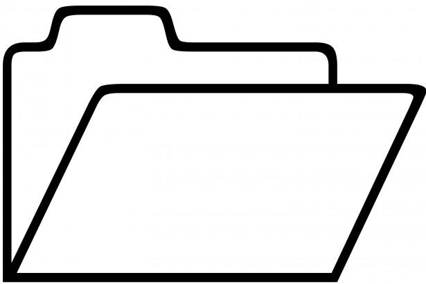 Public-Domain Folder Icon
