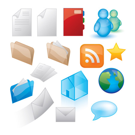 Resource Icons Vector Free