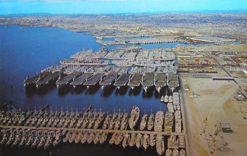 13 San Diego Naval Base PSD Images