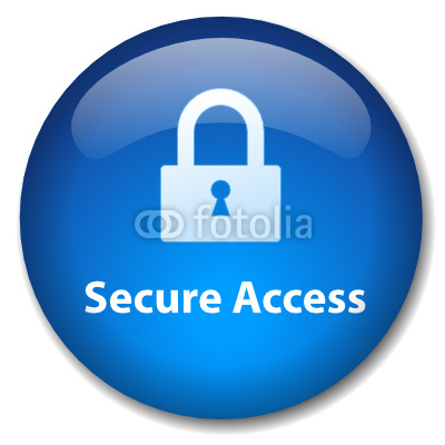 Secure Web Access Icons