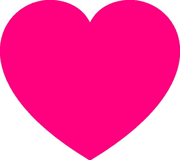 Small Pink Heart Clip Art