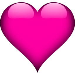 Small Pink Heart Icon
