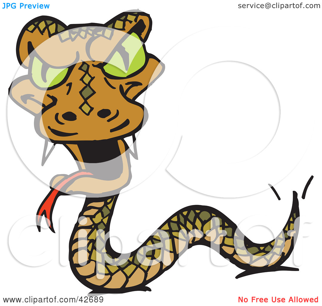 Snake Fangs Clip Art