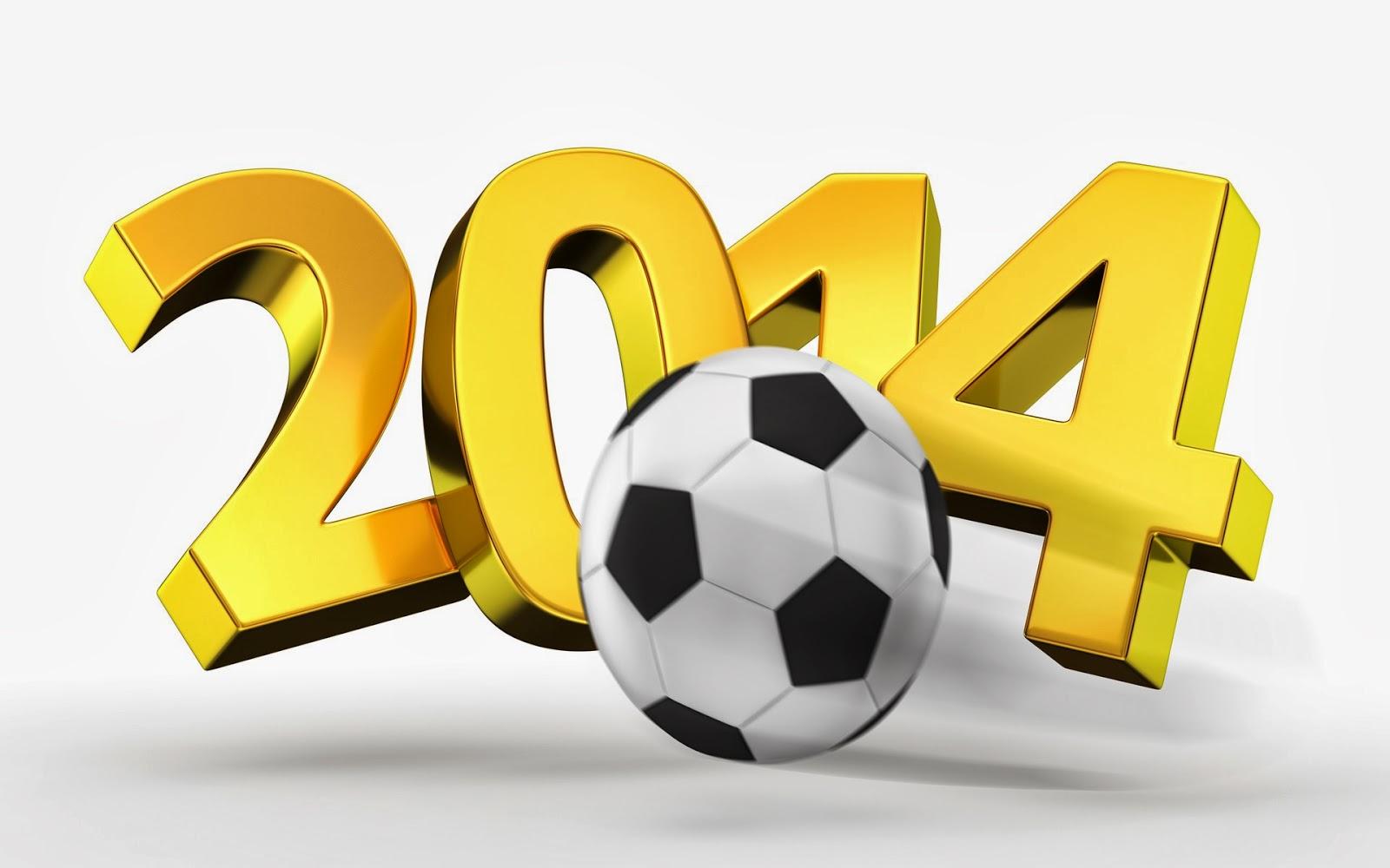 Soccer Happy New Year 2014