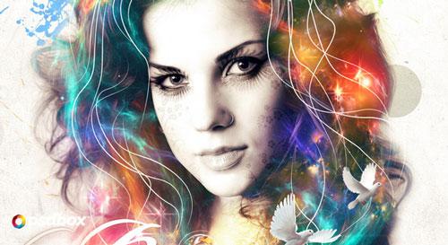 Special Effects Photoshop Portrait