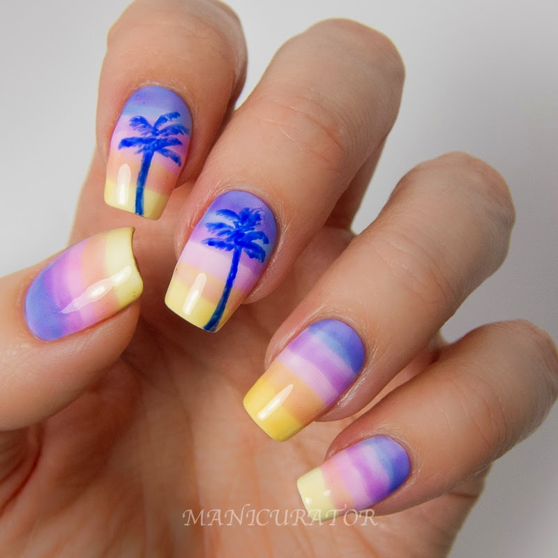 Ногти красивые лето и