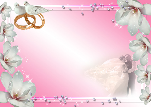 10 psd white doves for wedding images